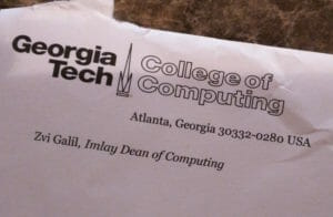 envelope from georgia tech